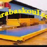 صادرات باسکول ماشین سنگین 60 تن