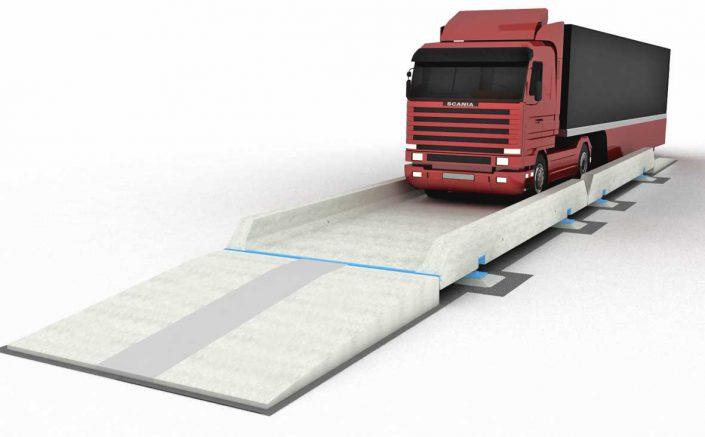 سیستم پلاک خوان باسکول کامیون کش